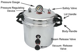 Autoclave Cooker Type Aluminum, Autoclaves And Sterilizer