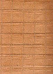 Orange Banana Fiber Handmade Paper with Jute String