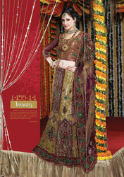 Ladies Net Lehengas