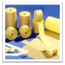 PTFE Coated Fibre Glass Adhesive Tapes