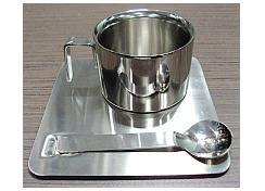 Stainless Steel DW Expresso Cup & Saucer
