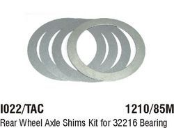 I022/TAC Rear Wheel Axle Shims Kit