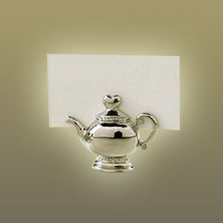 Tea Pot Place Card Holder