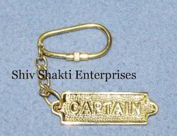 Brass Captain Key Chains