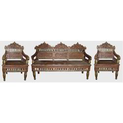 Carved Sofa Set Embossed