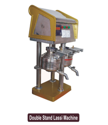 Double Stand Lassi Machine