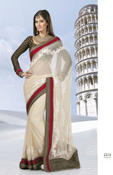Threadwork Sarees