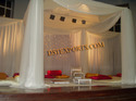Indian Wedding Elegant Clothes Mandap