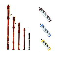 Recorders And Pianica
