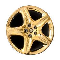 Golden Alloy Wheels