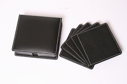 Leather Tea Coasters