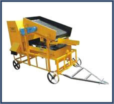 Vibratory Sand Screening Cum Washing Machine