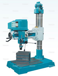 Back Geared Fine Feed Radial Drill Machine