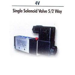 4V Single Solenoid Valve 5/2 Way