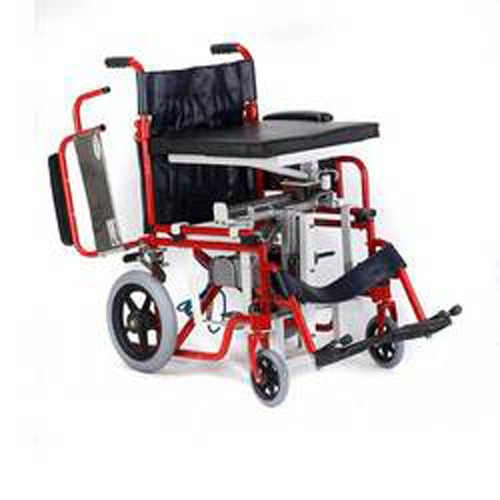 Seat Up And Seat Sliding Wheelchair