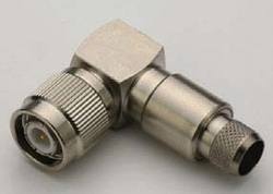 TNC Male Right Angle Crimp Connector