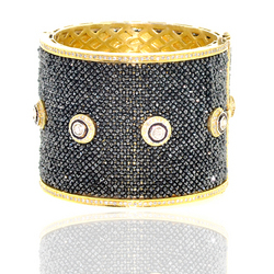 Diamond Beaded Bangle