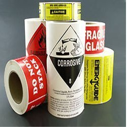 Electrical Plaster Label