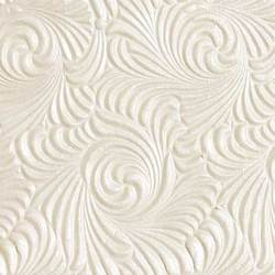 Ivory Two Tone Metallic Embossed Papers