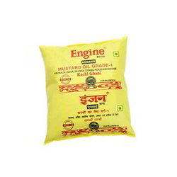 Engine Mustard Oil Kacchi Ghani 500 Ml Pouch