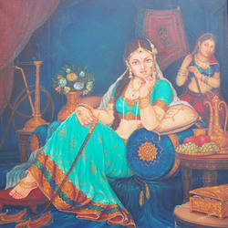 Lady In Sitting