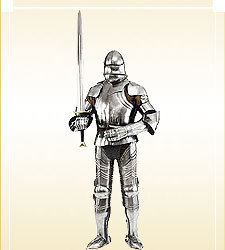 Full Knights Suit Of Armor