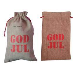 Jute Promotional Drawstring Bag