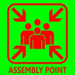 Assembly Point Signage