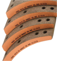 Brake Lining for NA-607 Heavy Duty Over the Road