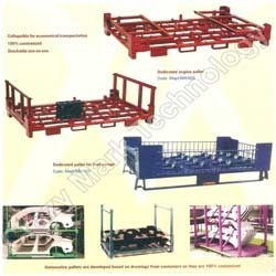 Fabricated Custom Built MS Pallets