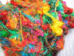 Sari Silk Waste For Spinners