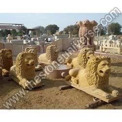 Sandstone Lions