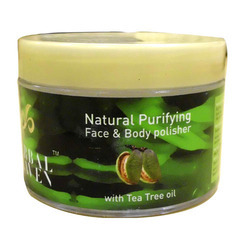 Face & Body Polisher With Tea Tree Oil