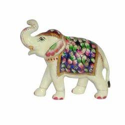 Elephant Metal Meenakari