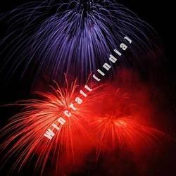 Fireworks (Red and Blue Shells)