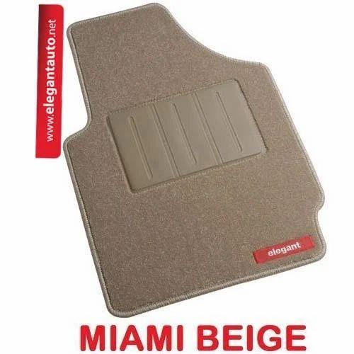 Miami Beige Foot Mats