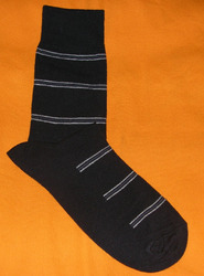AOV /MN/ST/26 Men Stripe Socks