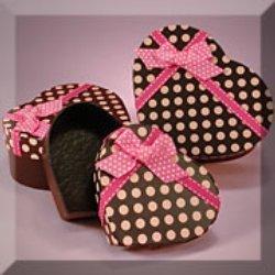 Polka Dot Heart Boxes