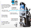 BDS MAB 1300 - Magnetic Core Drilling Machine