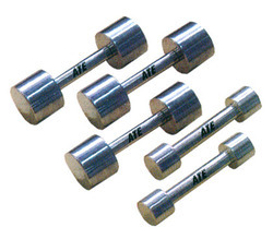 Dumbells Steel Chrome Plated