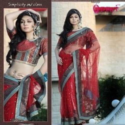 Ethnic Net Saree