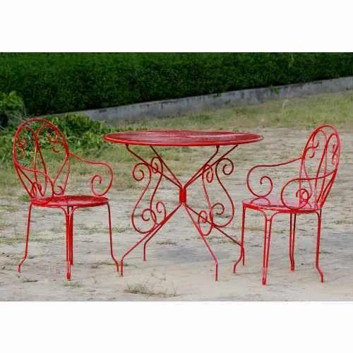 Mild Steel Garden Furniture