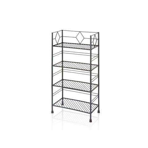 Iron Designer Book Shelf