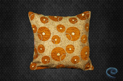 Designer Golden Cushion Covers