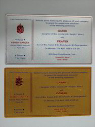 Visiting Cards And Invitations cards
