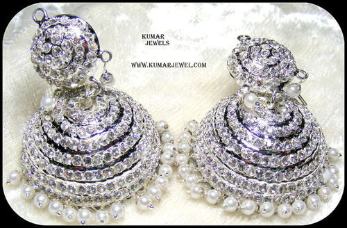 Artificial Jadau Earrings