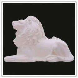 Marble Lion Figure