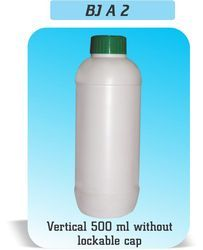 Vertical Shape Bottle Without Lockable Cap