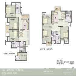 3 Bhk Floor Plan (layout )