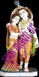 Marble Idols of Radha Krishna